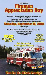 Firemen Appreciation Day
